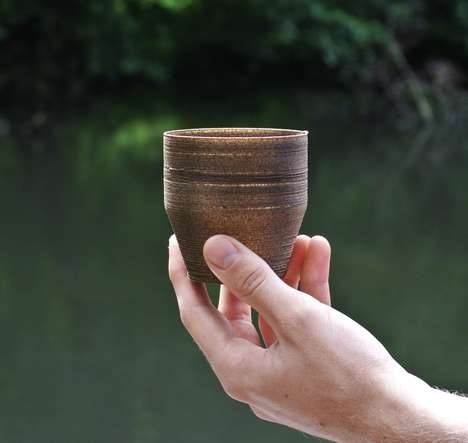 3D-Printed Algae Pots - This Eco Pot is Made from Kelp and a Biodegradable Polymer
