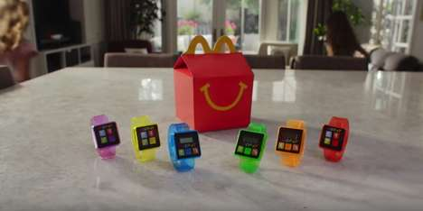 Fast Food Pedometers - McDonald's Newest Happy Meal Toy is a Step Counter