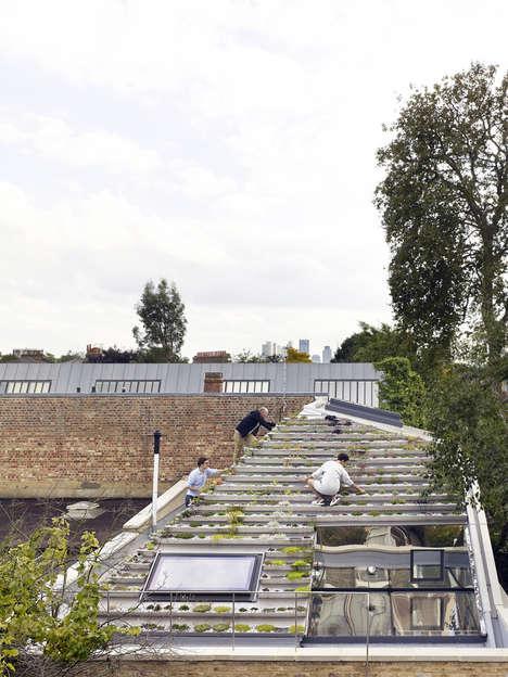 Green Gardening Roofs