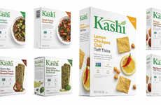 Culturally Inspired Snack Foods - Kashi's New Plant-Centric Snacks are Made with Exotic Ingredients