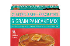Sprouted Grain Pancake Mixes - These Gluten-Free Pancake Mixes Align with Specialty-Food Diets