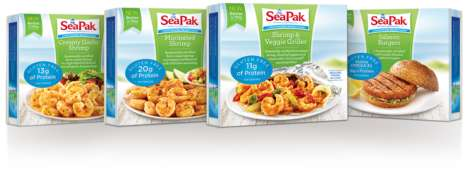 Sustainable Seafood Entrees
