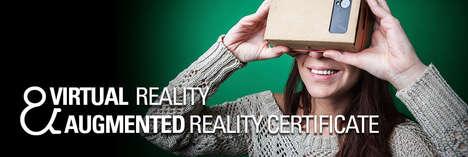 Virtual Reality Certificates