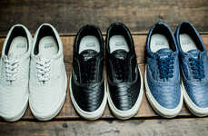 Snakeskin-Inspired Sneakers - These Snakeskin Sneakers Were Designed by Vans and WTAPS
