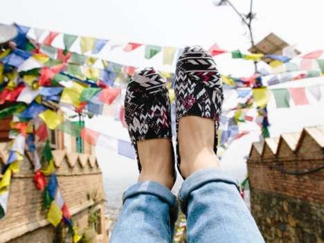 Charitable Footwear Collaborations