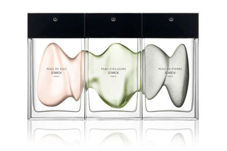 Fluid Perfume Branding - These Fragrance Bottles Are Fluid Through Their Branding