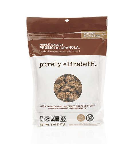 Probiotic Granola Mixtures