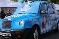Virtual Reality Taxis - Alcatel is Touring the UK with a Cab That Offers VR Experiences