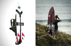Ergonomic Surfboard Knapsacks