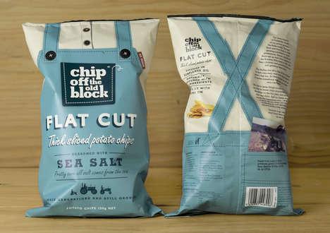 Farm-Inspired Snack Branding