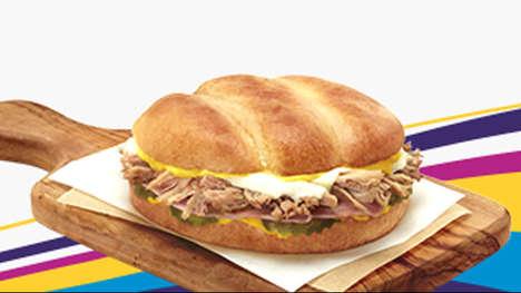 Cuba-Inspired Breakfast Sandwiches