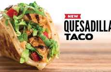 Hybrid Mexican Wraps - Taco John's New Quesadilla Tacos Combine Two Classic Mexican Dishes
