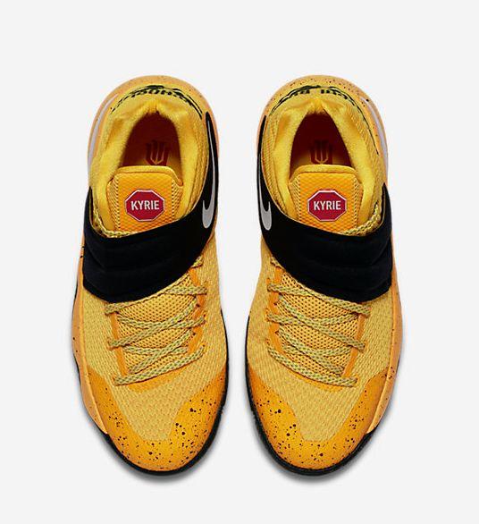 Bus-Inspired Sneakers : kyrie irving nike