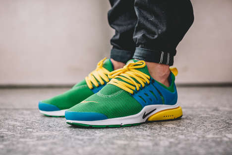 Patriotic Brazilian Sneakers