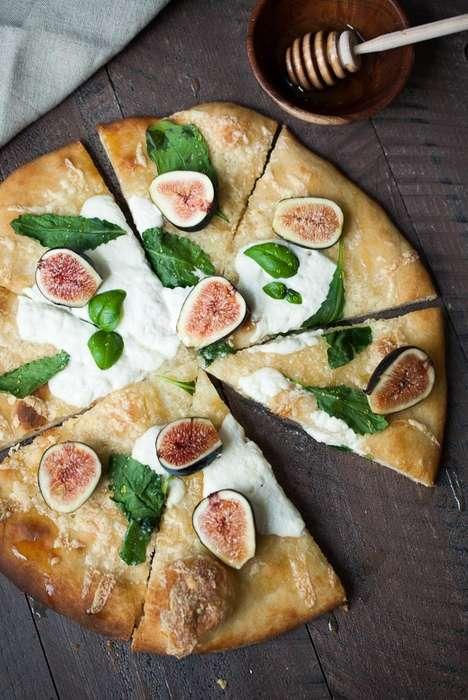 Sweet Fruit Pizzas