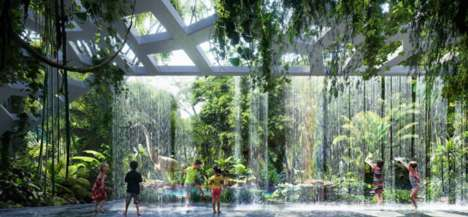 Simulated Rainforest Hotels - Rosemont Hotel and Residences Will Offer Artificial Forests to Explore