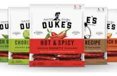 Snack-Sized Sausages - Duke's Small-Batch Meat Snacks Provide Consumers with a Boost of Protein