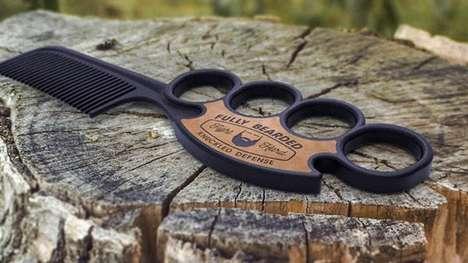 Brass Knuckle Combs