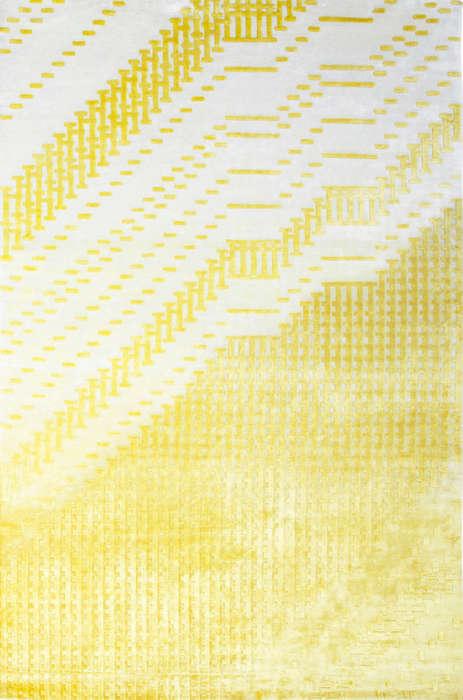 Glitch-Inspired Rugs