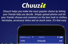 Crowdsourced Decision-Making Apps - The Chuuzit App Helps Customers Make Decisions By Sourcing Help