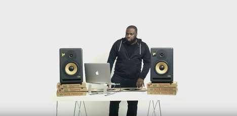 DJ Pizza Boxes