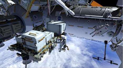 Space Taxi Parking Spots