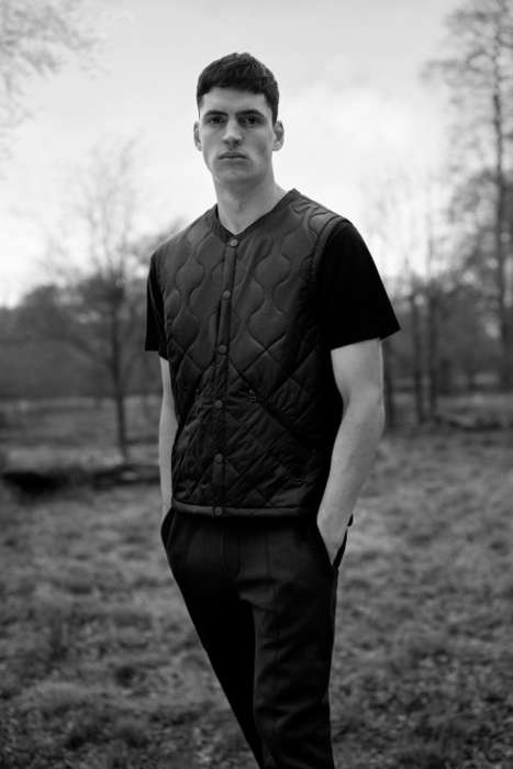 Modernized Collaborative Sportswear - wings+horns and Horns & adidas Present Stylish Casual Clothing