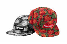 Unconventional Hat Designs - Supreme's Branded Hats Utilize Furry Fabric, Strange Imagery and More