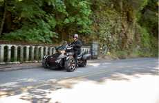 Dynamic Three-Wheel Cruisers - The Can-Am Spyder Offers Exciting Speed and Reliable Safety Features
