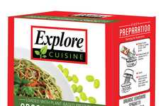 Vegetable-Based Noodles - Explore Cuisine's Edamame Spaghetti is a Healthy Pasta Alternative