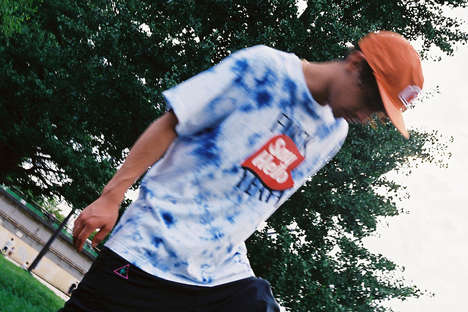 Tie-Dyed Japanese Skate Style