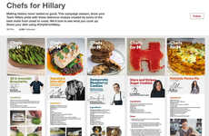 Presidential Candidate Recipes - The Chefs for Hillary Campaign Features Punny Political Dishes