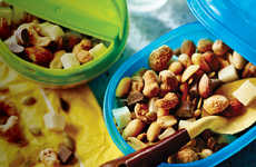 Tropical Trail Mix Snacks - This Gourmet Trail Mix Satisfies Sweet Cravings