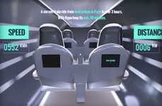 Futuristic Transportation VR Apps - 'Hyperloop VR' Gives Users a Demo Ride on the Future Tranport