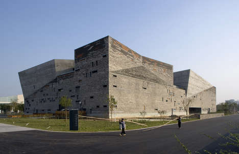 Recycled Historical Material Museums - Ningbo History Museum is Built with Debris from Old Villages