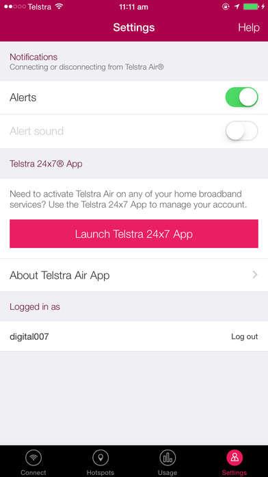 WiFi-Seeking Apps