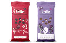 Decadent Rice Cakes - Kallo's Chocolate-Flavored Rice Cakes Are Designed For Hungry Adults