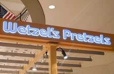 Pretzel-Purveying Apps - The Wetzel's Pretzels Rewards App Lets You Earn Loyalty Points For Snacking