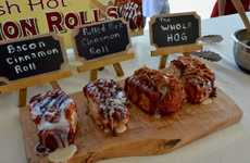 Pork-Topped Pastries - The 2016 Canadian National Exhibition Will Serve Pulled Pork Cinnamon Rolls