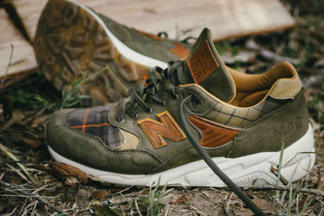 Hunter-Inspired Sneakers - New Balance's Plaid Sneakers Were Made Specifically for Adventurous Men