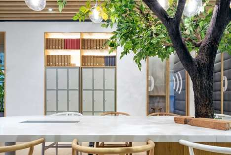 Earthy Office Interiors - This Nature-Inspired Co-Working Space Brings the Outdoors Into the Office