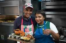 Celebrity-Driven Cooking Competitions - 'Star Plates' Pits Celebrities Against Professional Chefs