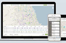 Bee-Based Routing Apps - The Routific Software System Plans Routes for Delivery Fleets