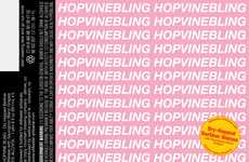 Rapper-Inspired Ales - The Hopvine Bling is a Blended Beer Wine Inspired by Drake's Song Lyrics