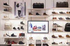 App-Connected Footwear Shops