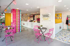 Whimsical Creamery Parlours - Dondurma Dükkanı's Ice-Cream Shop Offers a Feminine Nod to Diners