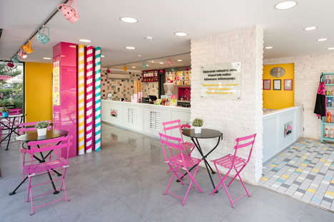 Whimsical Creamery Parlours