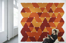 Sound-Controlling Decorative Tiles