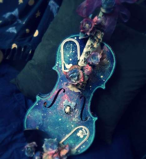 Painted Musical Instruments