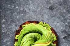 Swirled Avocado Photography